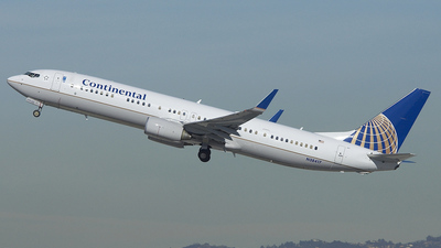 N38417 - Boeing 737-924ER - Continental Airlines