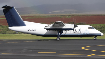 N808WP - Bombardier Dash 8-103 - Island Air