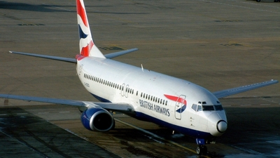 G-DOCO - Boeing 737-436 - British Airways