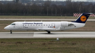 D-ACLV - Bombardier CRJ-100LR - Lufthansa Regional (CityLine)