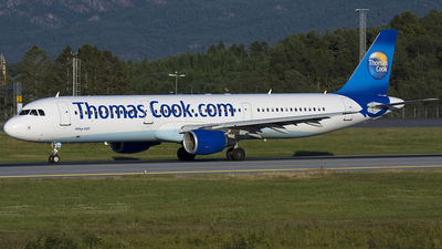 OY-VKT - Airbus A321-211 - Thomas Cook Airlines Scandinavia