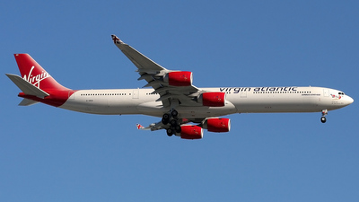 G-VRED - Airbus A340-642 - Virgin Atlantic Airways