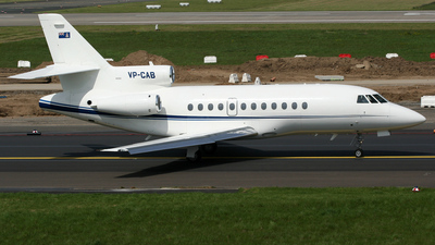 VP-CAB - Dassault Falcon 900 - ASW Air Services