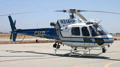N314HP - Eurocopter AS 350B3 Ecureuil - United States - California Highway Patrol