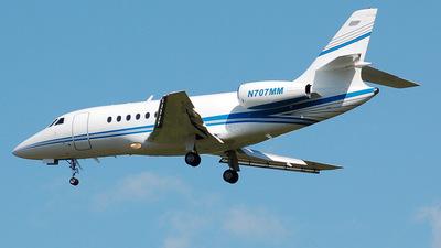 N707MM - Dassault Falcon 2000 - Private