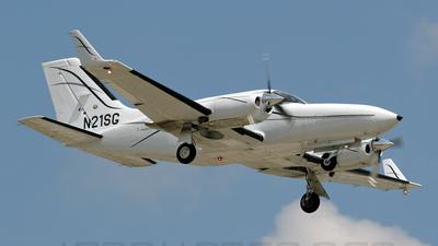 N21SG - Cessna 421C Golden Eagle - Private