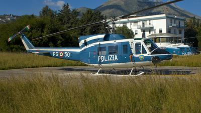 PS-50 - Agusta-Bell AB-212 - Italy - Polizia di Stato