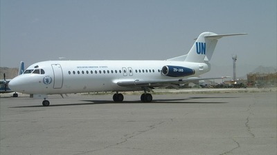ZS-JAS - Fokker F28-4000 Fellowship - Airquarius Aviation