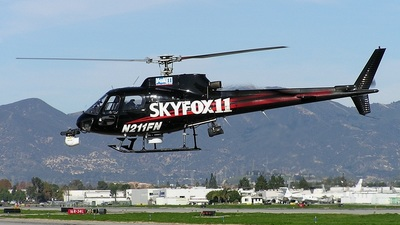 N211FN - Aérospatiale AS 350B1 Ecureuil - Fox Broadcasting