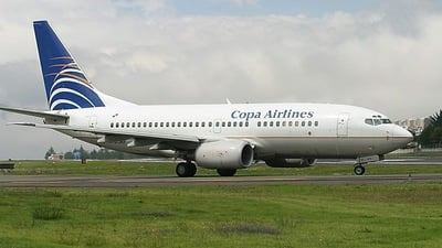 HP-1372CMP - Boeing 737-7V3 - Copa Airlines