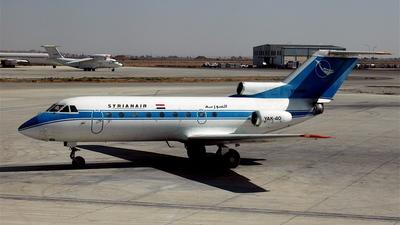 YK-AQE - Yakovlev Yak-40 - Syrianair - Syrian Arab Airlines