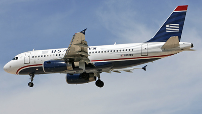 N820AW - Airbus A319-132 - US Airways (America West Airlines)