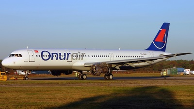 TC-ONS - Airbus A321-131 - Onur Air