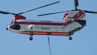 A picture of N239CH - Boeing Vertol 234 - [MJ006] - © Joe G. Walker