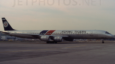 N706FT - Douglas DC-8-73(CF) - Flying Tigers
