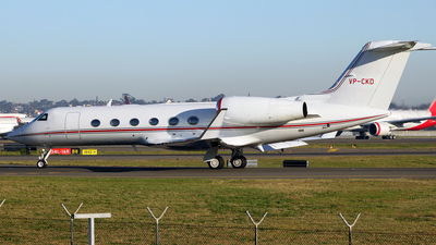 VP-CKD - Gulfstream G450 - Private