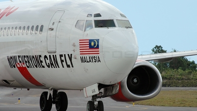 9M-AAX - Boeing 737-3Y0 - AirAsia