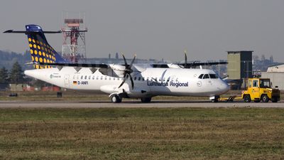 D-ANFI - ATR 72-212A(500) - Lufthansa Regional (Contact Air)