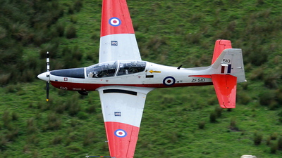 ZF510 - Short Tucano T.1 - United Kingdom - QinetiQ