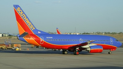 N435WN - Boeing 737-7H4 - Southwest Airlines