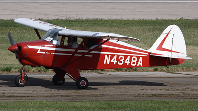 N4348A - Piper PA-22-150 Tri-Pacer - Private