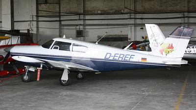 D-EREF - Piper PA-24-250 Comanche - Private
