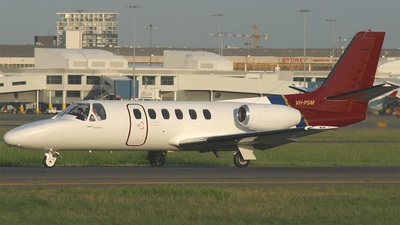 VH-PSM - Cessna 550 Citation II - Shortstop Jet Charter