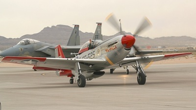 N151AF - North American P-51D Mustang - Private
