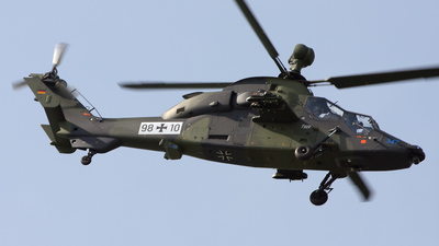 98-10 - Eurocopter EC 665 Tiger UHT - Germany - Army