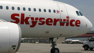 C-GTDC - Airbus A320-232 - Skyservice Airlines