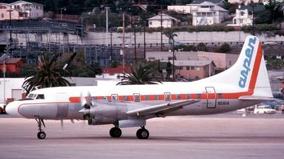 N5814 - Convair CV-580 - Aspen Airways