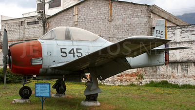 FAE49-1545 - North American T-28D Trojan - Ecuador - Air Force