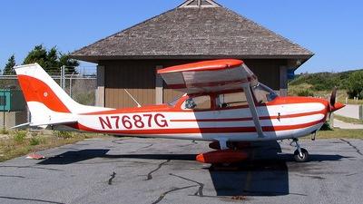 A picture of N7687G - Cessna 172L Skyhawk - [17259387] - © Mirko Bleuer