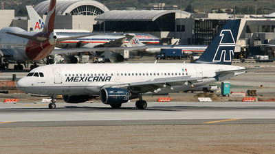 N62TY - Airbus A319-112 - Mexicana