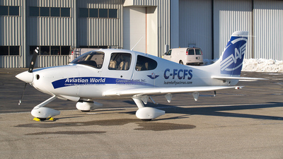 C-FCFS - Cirrus SR20 - Canadian Flyers
