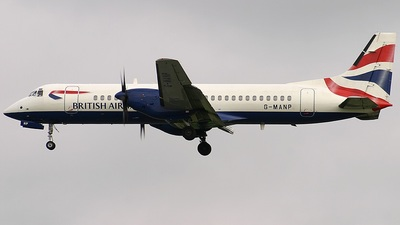 G-MANP - British Aerospace ATP - British Airways (CityFlyer Express)