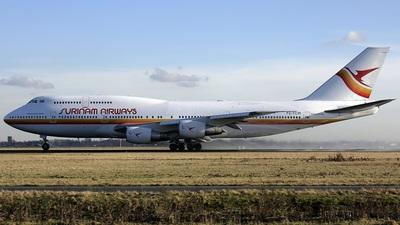 PZ-TCM - Boeing 747-306(M) - Surinam Airways