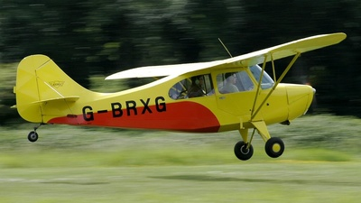 A picture of GBRXG - Aeronca 7AC Champion - [7AC3910] - © BRIAN NICHOLAS