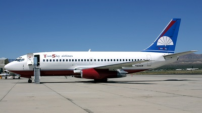 N104SW - Boeing 737-2H4(Adv) - TranSky Airlines