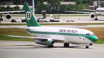 PK-IJJ - Boeing 737-230(Adv) - Bouraq Indonesia Airlines