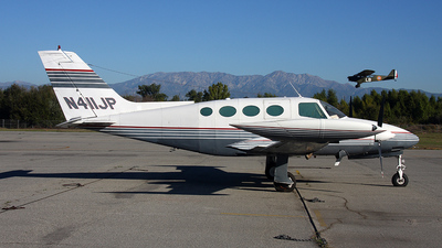 N411JP - Cessna 411 - Private