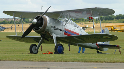 G-GLAD - Gloster Gladiator Mk.II - Private