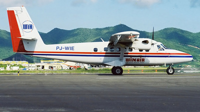 PJ-WIE - De Havilland Canada DHC-6-300 Twin Otter - Winair - Windward Islands Airways