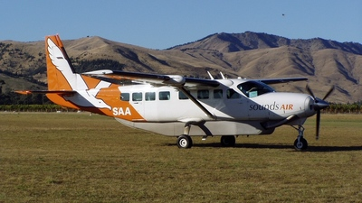 ZK-SAA - Cessna 208B Grand Caravan - Sounds Air