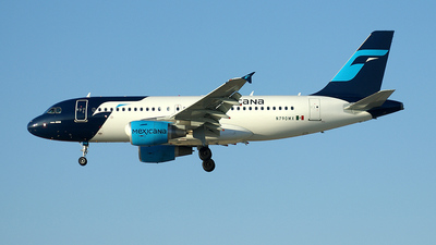 N790MX - Airbus A319-112 - Mexicana