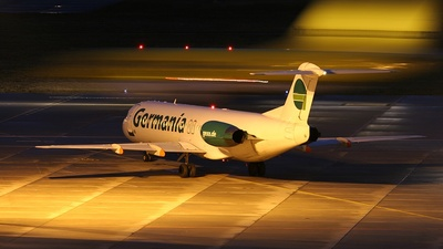 D-AGPL - Fokker 100 - Germania