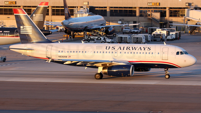 N836AW - Airbus A319-132 - US Airways