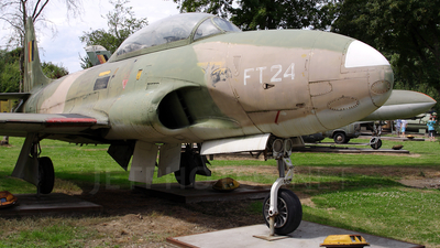 FT-24 - Lockheed T-33A Shooting Star - Belgium - Air Force