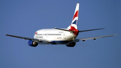 G-BVNN - Boeing 737-4S3 - British Airways