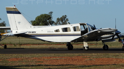 VH-MRY - Piper PA-34-220T Seneca III - Central Highlands Air Transport